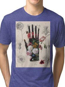 Flowers handmade Tri-blend T-Shirt