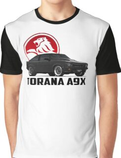 Holden Torana - A9X Hatchback - Black 2 Graphic T-Shirt
