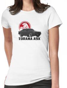 Holden Torana - A9X Hatchback - Black 2 Womens Fitted T-Shirt