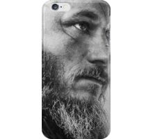 king ragnar quote iPhone Case/Skin