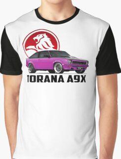 Holden Torana - A9X Hatchback - Pink 2 Graphic T-Shirt