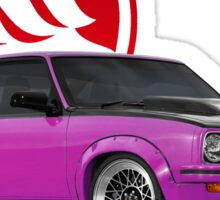 Holden Torana - A9X Hatchback - Pink 2 Sticker
