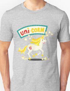 Unicorn on the cob Unisex T-Shirt