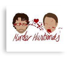 Hannibal - Murder Husbands Canvas Print