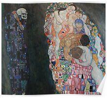 Klimt - Death and Life 1910-15 . Gustav Klimt . Life Poster