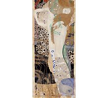 Klimt - Friends Water serpants.  Klimt . Woman , Portrait , Fashion  Photographic Print