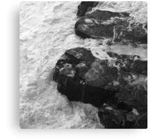 Liquid Edge. 1 - photography Canvas Print