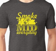 Smoke Mid Everyday - Stamp Version Unisex T-Shirt