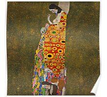 Klimt - Hope . Klimt , Woman  Poster