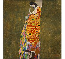 Klimt - Hope . Klimt , Woman  Photographic Print