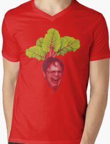 The Office: Dwight Schrute Beet Mens V-Neck T-Shirt