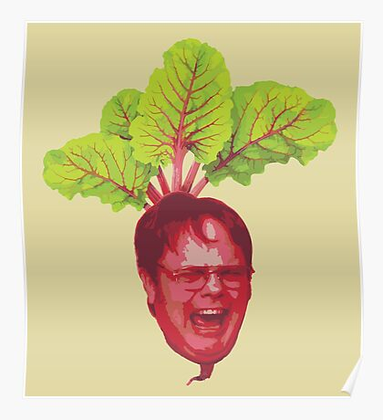 The Office: Dwight Schrute Beet Poster