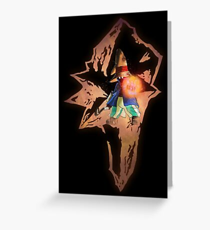 Black Mage Greeting Card