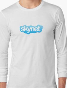 It's self-aware...and messaging me Long Sleeve T-Shirt