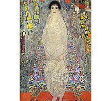 Gustav Klimt  - Portrait of Baroness Elisabeth Bachofen Photographic Print