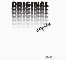 Oxymoron Illustration - Original Copies - Black on White Baby Tee