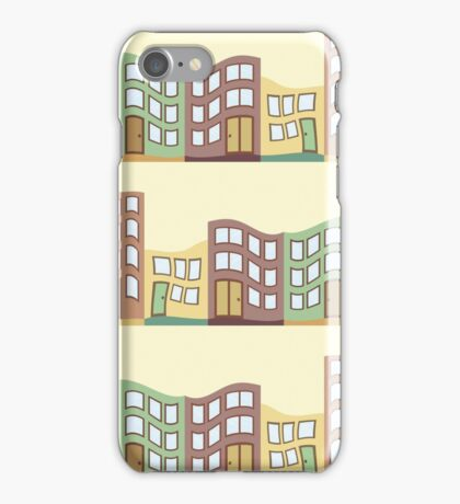 Abstract Surreal House iPhone Case/Skin
