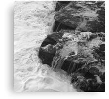 Liquid Edge. 3 - photography Canvas Print