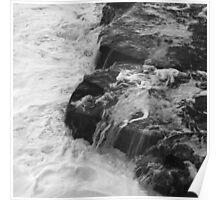 Liquid Edge. 3 - photography Poster