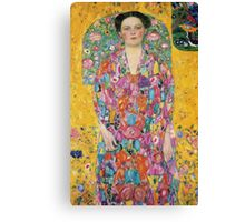 Gustav Klimt  - Portrait of Eugenia Primavesi Canvas Print