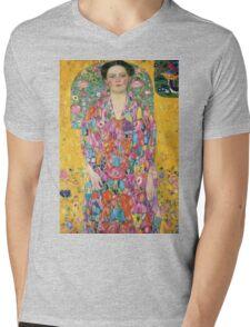 Gustav Klimt  - Portrait of Eugenia Primavesi Mens V-Neck T-Shirt