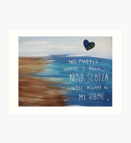 Nova Scotia Home Art Print