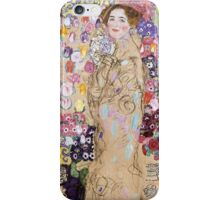 Gustav Klimt - Portrait of Ria Munk  iPhone Case/Skin