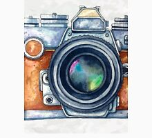 Watercolor camera. Unisex T-Shirt