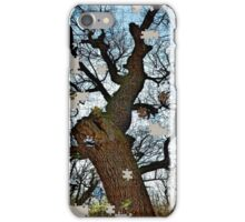 Old tree puzzle iPhone Case/Skin