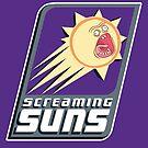 Screaming Suns by Vitaliy Klimenko