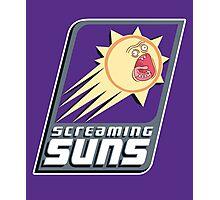 Screaming Suns Photographic Print
