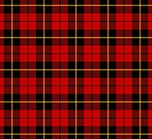 Clan Wallace Tartan by thecelticflame