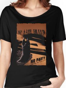 No sahid Hulu No Party  Women's Relaxed Fit T-Shirt