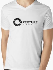 Portal Aperture Mens V-Neck T-Shirt