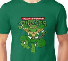 Mighty Morphin Turtles Green Ranger Michaelangelo Unisex T-Shirt