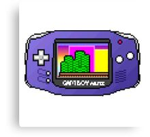 game boy advance Canvas Print