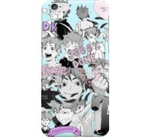 ♥♥♥ HAIKYUU!! HINATA SHOUYOU COLLAGE TUMBLR PASTEL ♥♥♥ iPhone Case/Skin