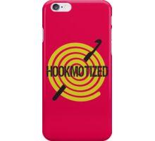Spiral ball of yarn crochet hook hookmotized iPhone Case/Skin