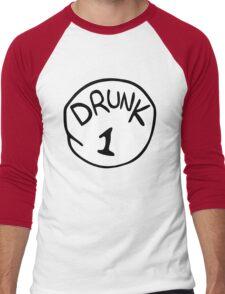 Drunk 1 Men's Baseball ¾ T-Shirt