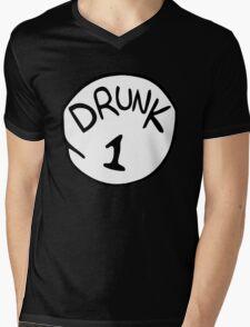 Drunk 1 Mens V-Neck T-Shirt
