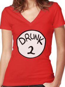 Drunk 2 Women's Fitted V-Neck T-Shirt