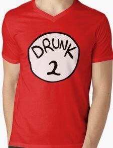 Drunk 2 Mens V-Neck T-Shirt
