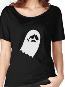 Sad Ghostie Women's Relaxed Fit T-Shirt