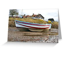 """Mizpah"" Coble, Alnmouth Greeting Card"