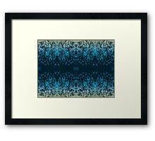 Abstract design _blue edition Framed Print