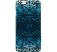 Abstract design _blue edition iPhone Case/Skin