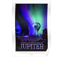 Jupiter - NASA/JPL Travel Poster Poster