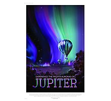 Jupiter - NASA/JPL Travel Poster Photographic Print
