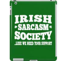 Irish Sarcasm Society iPad Case/Skin