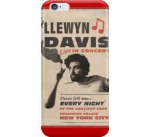 Llewyn Davis Live in Concert iPhone Case/Skin